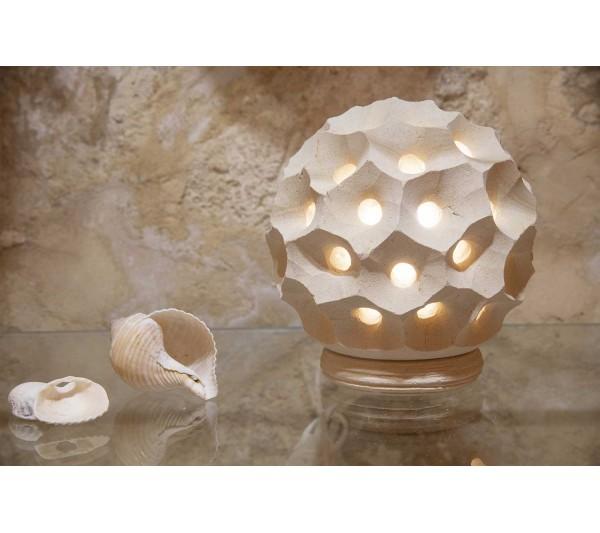 Bomboniera lampada sfera riccio